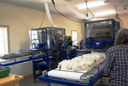 How The Mill Works Vermont Fiber Mill Fiber Processing